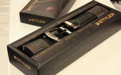 Дизайн и изработка на кутия за колан, Styler