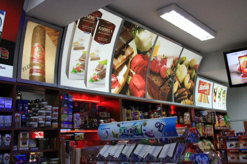 Lasting advertising interior signage - sign making company Media Design
