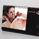 Календар пирамидка за фирма Нов стил