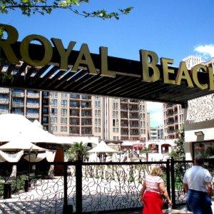 Изработка на светещи обемни букви от алурапид и светодиоди за хотел в Слънчев бряг