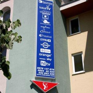Attractive illuminated advertising - sign making company Media Design