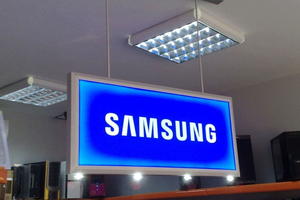 Illuminated acrylic sign - sign making company Media Design