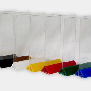Рекламни стойки от плексиглас за брошури, Медия Дизайн