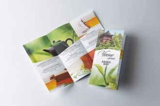 Чаено меню с атрактивни снимки