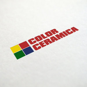 Лого дизайн за фирма Колор Кериамика, изработка Медия Дизайн