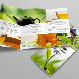 Дизайн на брошура с красиви високакчествени снимки