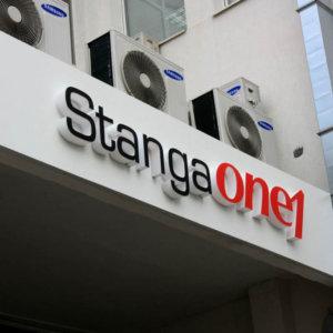 Рекламни букви със светодиоди, от плексиглас. StangaONE1