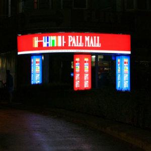 Lasting illuminated signage - sign making company Media Design