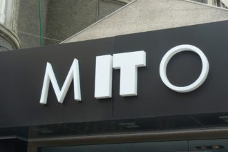 Светещи обемни букви за магазин Mito, Пловдив
