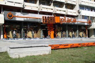 Светещи букви от плексиглас Fashion Place, Пловдив