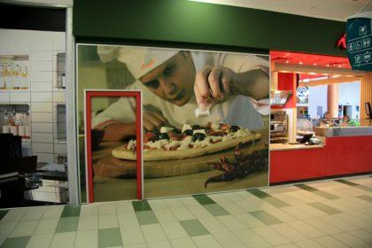 Винилна реклама за пицария Верди