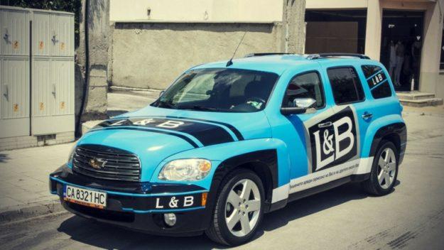 Брандиране на автомобили на Sixt