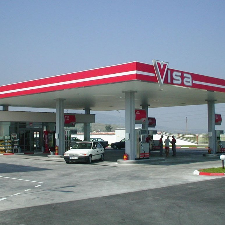 Full branding for Viza Asenovgrad Petrol Station