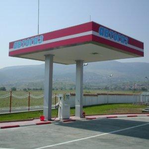 Full outdoor branding for Viza Asenovgrad Petrol Station