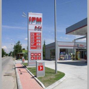 Totem for IPM Petrol Station