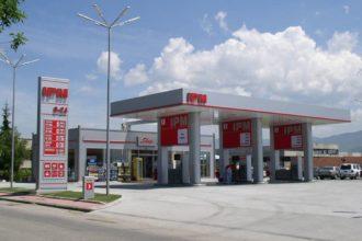 Цялостно брандиране на бензиностанция IPM
