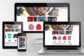 Web дизайн на сайт за Basta Moda