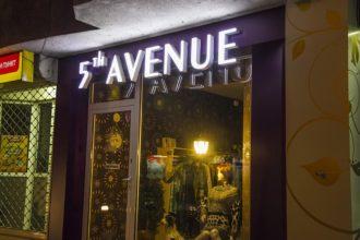 Светещи обемни букви със светодиоди GOQ LED - 5th Avenu