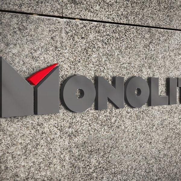 Лого дизайн Monolit 1994, Медия Дизайн