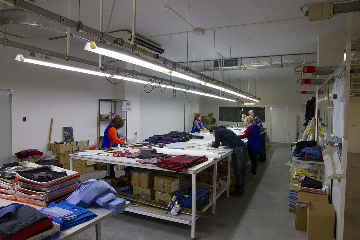 Мъжка мода Styler - производство