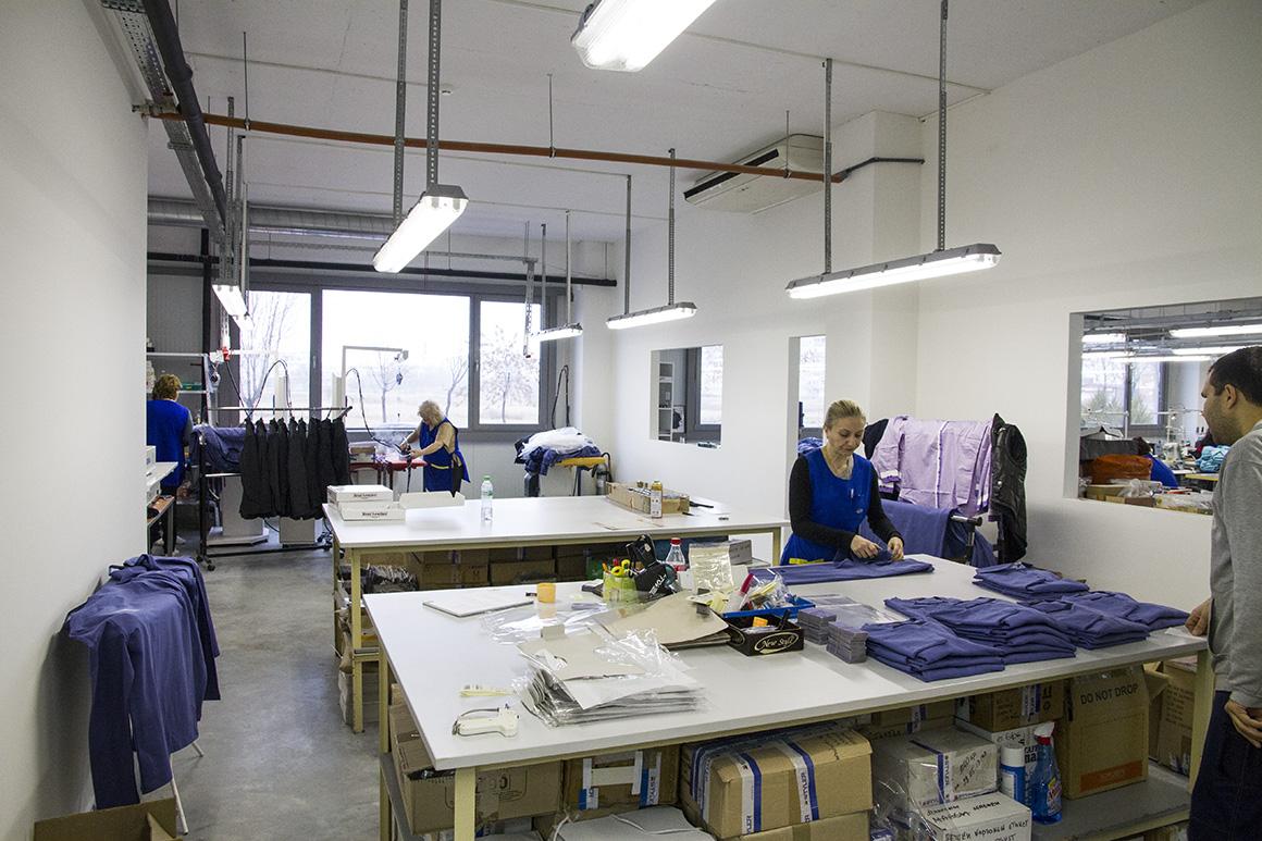 Styler - производствена база