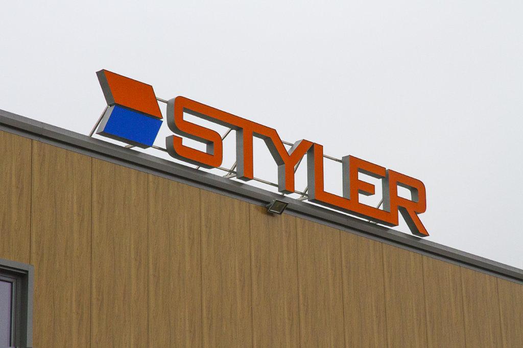 светещи обемни букви Styler