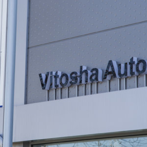 Illuminated channel letters for INFINITI center in Plovdiv