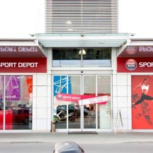 Illuminated advertising sign for Sport Depot