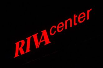 Светещи обемни букви Riva Center
