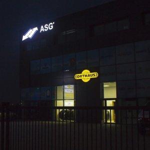 Светещо лого Orthaus