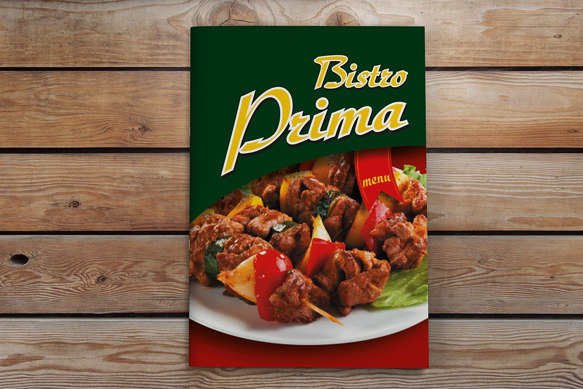 бистро Prima - меню за ресторант