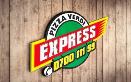 Дизайн и изработка на лого за Verdi Express