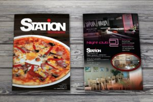 Restaurant Station - Menu design by Media Design