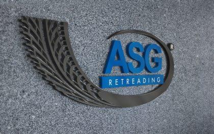 Дизайн на лого за ASG от Медия Дизайн