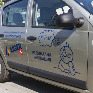 Vehicles branded with high-quality graphics