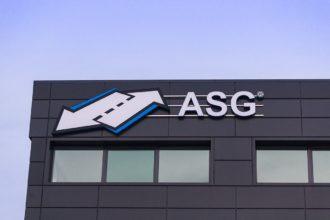 ASG външна реклама - светещи букви
