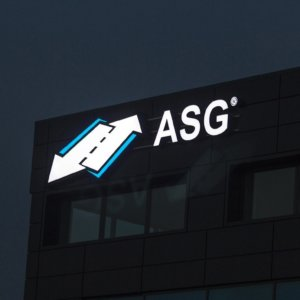 Illuminated channel letters ASG
