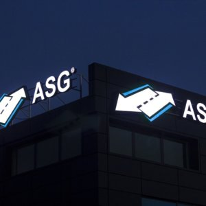 ASG illuminated channel letters