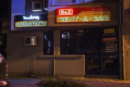 Attractive LED signs for S&Z Rent A Car