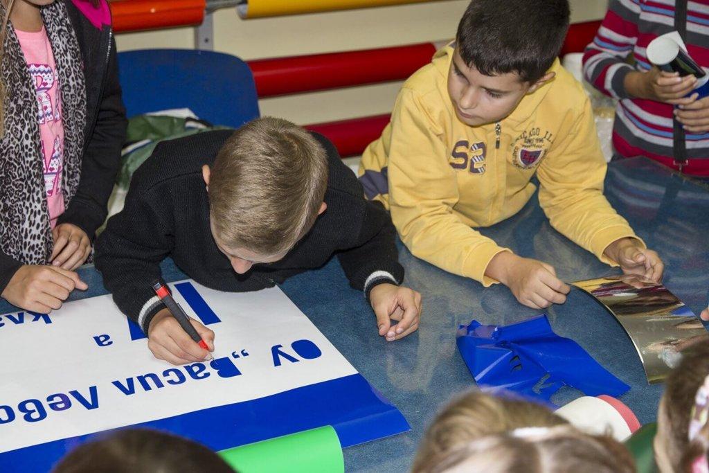 Ученици от ОУ Васил Левски на гости на Медия Дизайн