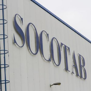 Socotab embossed channel letters