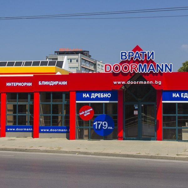 Doormann Doors branding
