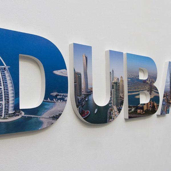 Dubai letters Advent Grop