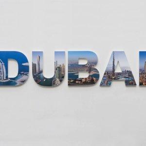 Advent Group channel letters Dubai