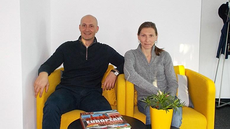 Калоян Стойкин и Милена Ботева от Амика ООД