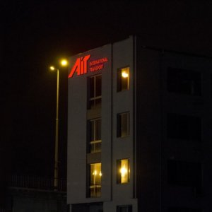 AIT illuminated aluminum channel letters