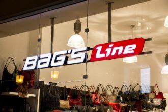 Bags Line светещи обемни букви от плексиглас