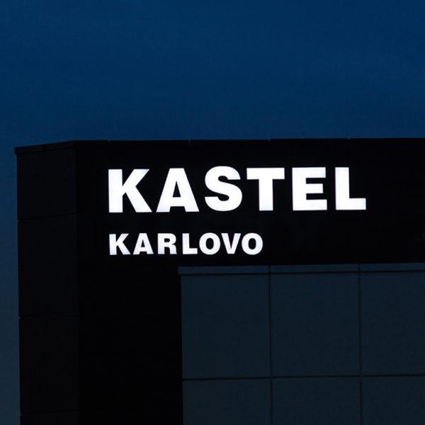 Kastel Karlovo Channel letters