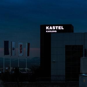 Kastel Karlovo Illuminated acrylic channel letters
