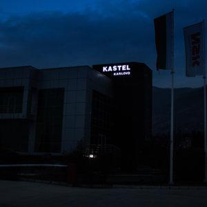 Kastel Karlovo acrylic channel letters